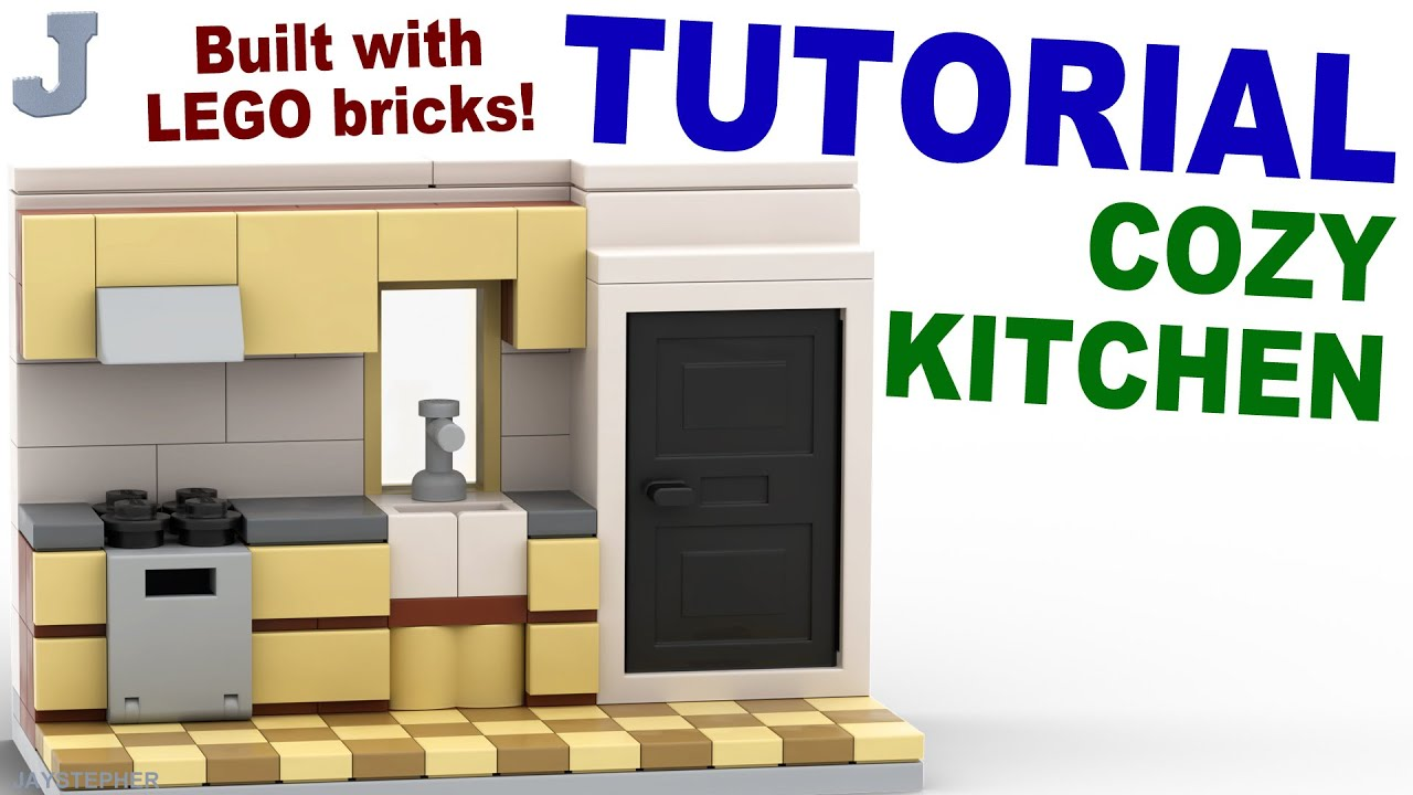 How To Make A Lego Kitchen Sink