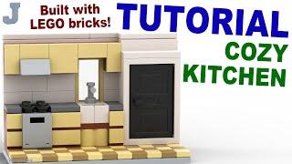 Tutorial - Lego Cozy Kitchen [cc]
