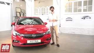 2015 Nouvelle Opel Astra 5 : présentation vidéo AutoMoto