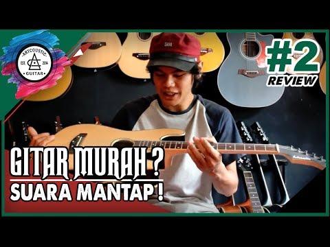 PERKENALAN PRODUK GITAR MURAH INDONESIA ARTCOUSTIC STRATACOUSTIC AKUSTIK ELEKTRIK