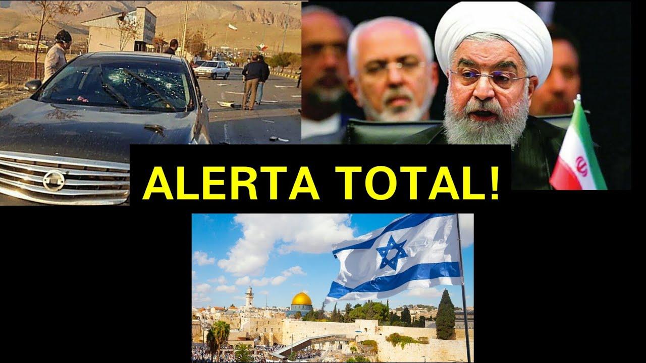 Israel põe embaixadas em alerta por supostas represálias do Irã