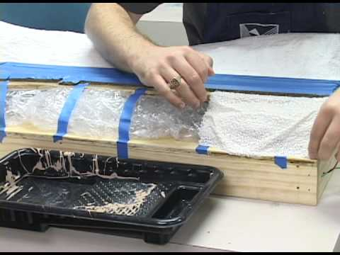 Model Railroader basic training video: How to install plaster cloth