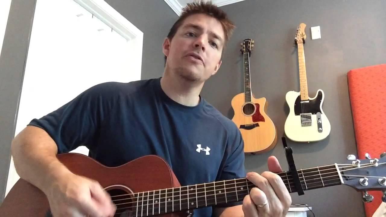 I Hope You Dance Lee Ann Womack Beginner Guitar Lesson Youtube