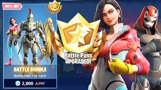FORTNITE BATTLE BUNDLE: Gratuit 25 Tiers et Battle Pass Saison 9