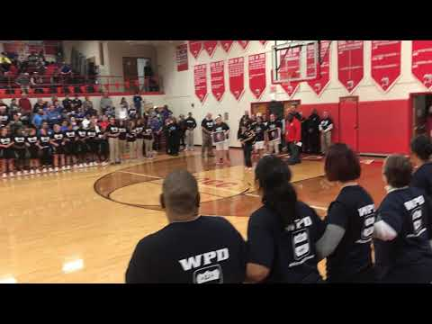Westerville South honors first responders