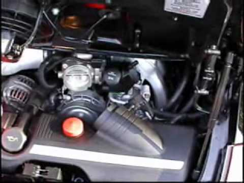 Porsche 997 Carrera with Fabsd Cold Air Kit - YouTube on