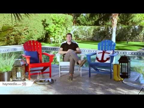 Belham Living Belmore All Weather Resin Wood Adirondack Chair - Product Review Video