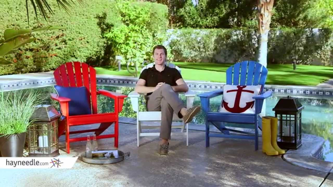 Belham Living Belmore All Weather Resin Wood Adirondack Chair   Product  Review Video   YouTube