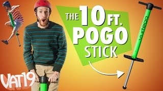 10ft. Pogo Stick!