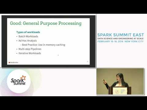 Not Your Father's Database: How to Use Apache Spark Properly in Your Big Data Architecture