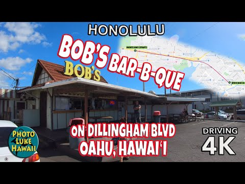 Bob's Bar B Que On Dillingham Blvd Oahu Hawaii
