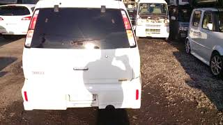 Видео-тест автомобиля Nissan Cube (белый, 2000г., Cga3de, AZ10-212684)