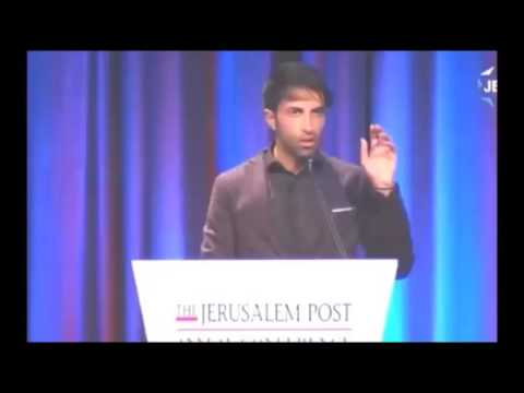"""""""Son of Hamas"""" speaks on the State of Israel & the Threat of Islam"""