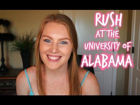 Rushing At The University of Alabama | Sorority Recruitment
