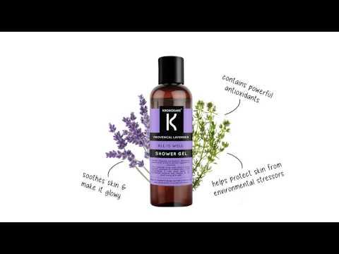 Kronokare - Provencal Lavender - All Is Well - Shower Gel
