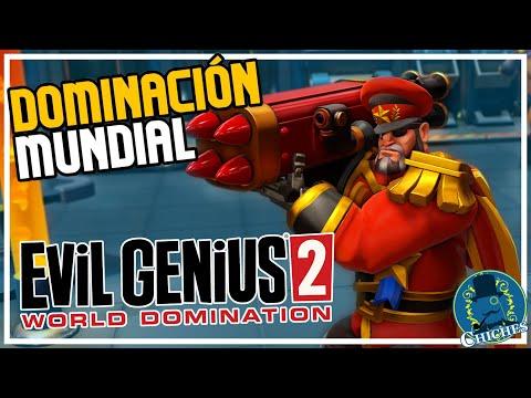 EVIL GENIUS 2  Gameplay Español - Soy Un SuperVillano en  Evil Genius 2: World Domination