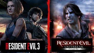Resident Evil 3 Nemesis - Versión HD + Resident Evil Outbreak: File #2 - Online con Subs