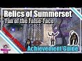 ESO: Relics of Summerset - Fan of the False-Face Achievement Guide