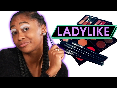 Thumbnail: Women Try Extreme Runway Makeup • Ladylike
