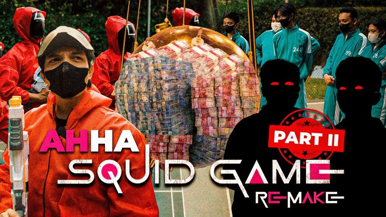 Siapa yang dapet Uang Puluhan Ratusan juta? Di AHHA Squid Game FINAL ROUND.