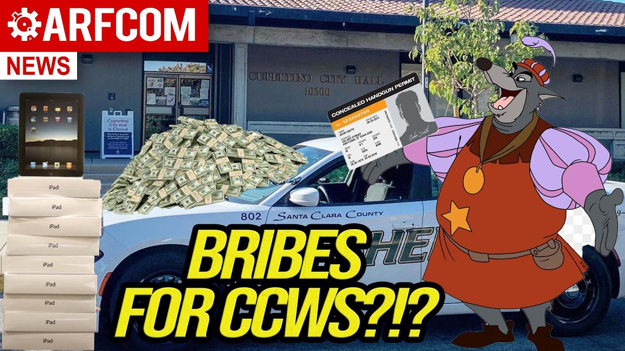 A California Sheriff That Wants Your Bribes?!?
