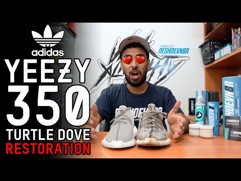 Restorations with Vick - Yeezy 350 Turtle Dove Full Restoration