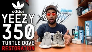 Yeezy 350 Turtle Dove Restoration Tutorial with Vick Almighty