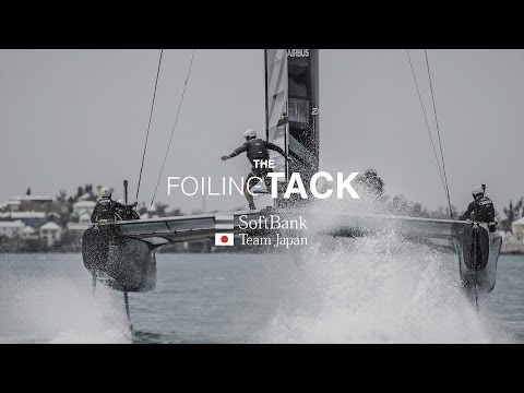 SoftBank Team Japan: The Foiling Tack Explained