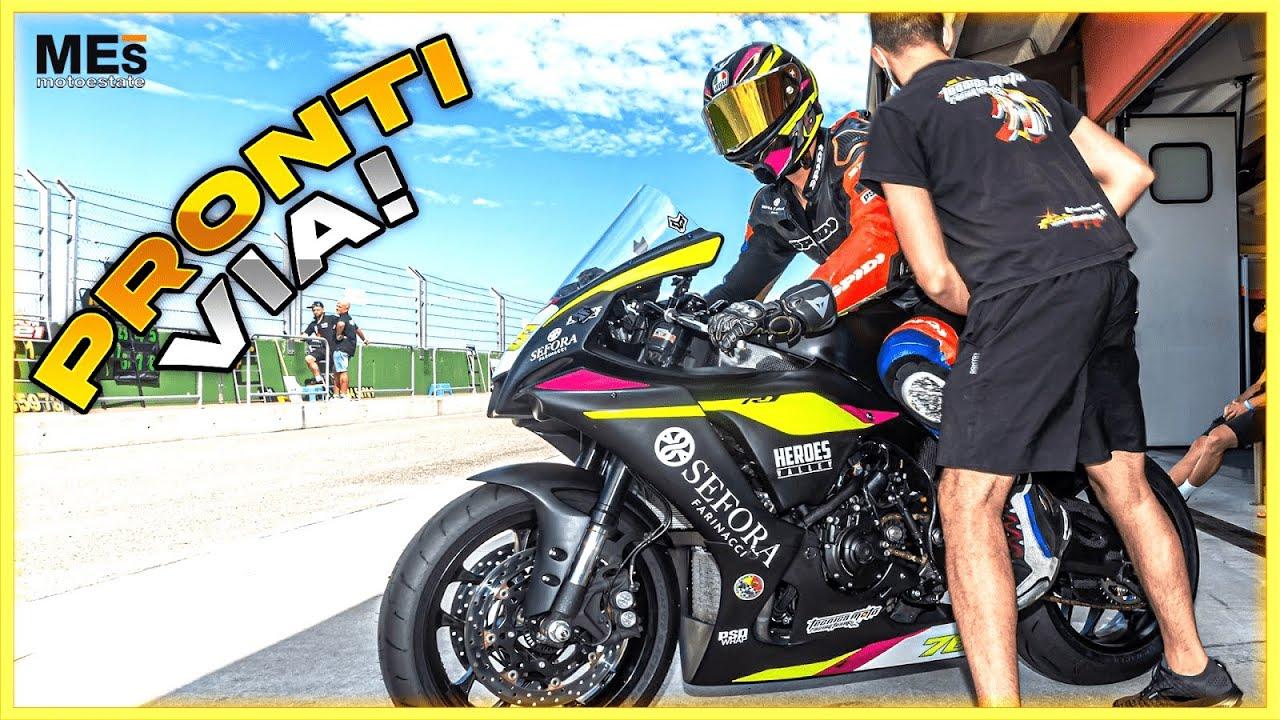Il POTERE del BAFFO da PILOTA 🤣 Test Yamaha R1 Tazio Nuvolari