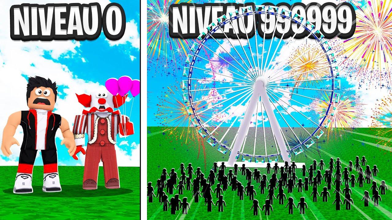 LE PLUS GRAND PARC D'ATTRACTIONS DE ROBLOX ! (Carnival Tycoon)
