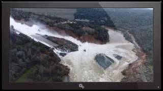 LIVE URGENT ALERT 50,000 BEING EVACUATED SAN JOSE OROVILLE DAM SERIOUS CALIFORNIA FLOODING UPDATE