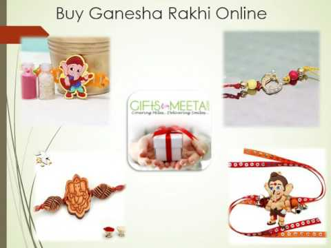Buy Online Ganesha Rakhi