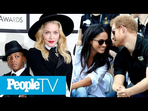 Madonna's Son Belts Out Her Greatest Hit, What Prince Harry & Meghan Markle's PDA Means | PeopleTV