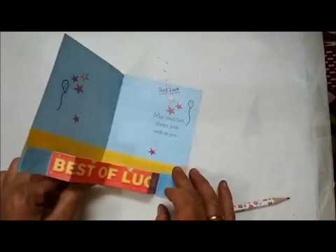 Best Wishes Card Good Wishes For Exams Card Making by Little