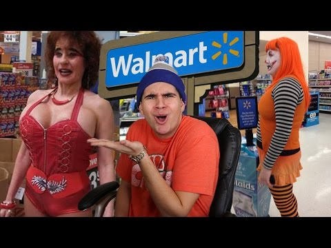 PEOPLE OF WALMART! - STRANGEST PEOPLE OF 2016