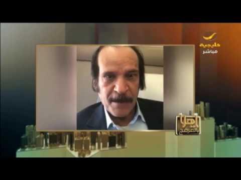 خالد المالك يروي للعرفج سر اختيار اللون الأزرق للوجو صحيفة الجزيرة