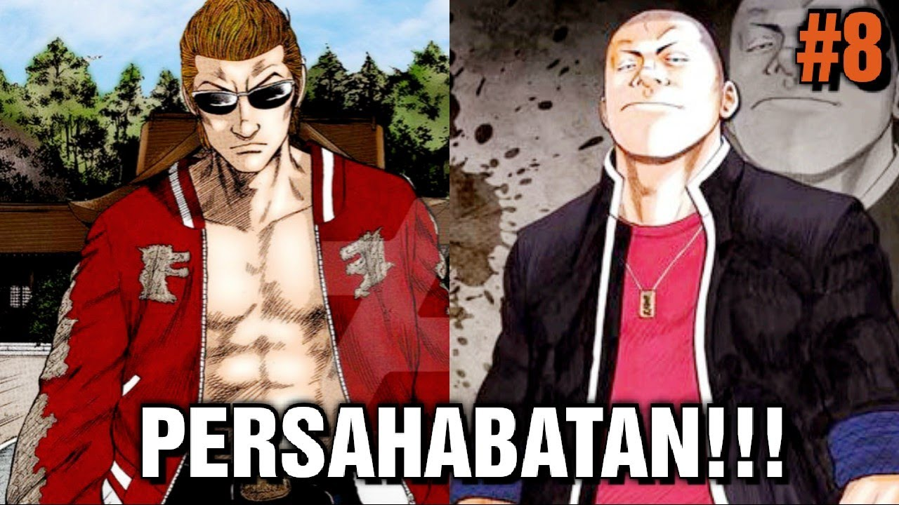 PENYERANGAN KUROTAKI !! | Alur Cerita Manga Crows PART 8
