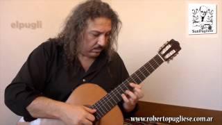 Adios Muchachos - tango - Guitar by Roberto Pugliese