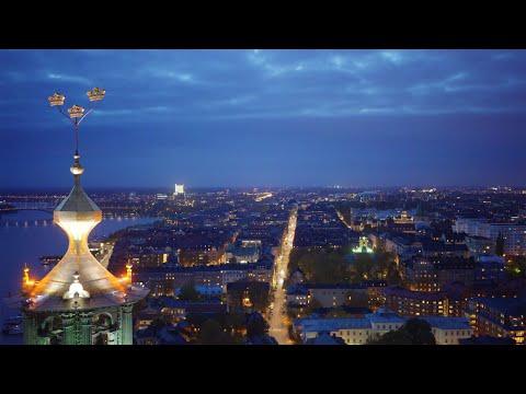 2181. Stadshuset (Stockholm City Hall) Stock Footage Video