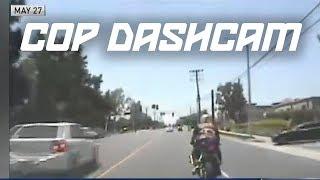 NEW FOOTAGE: CHP RELEASE DASHCAM VIDEO HITTING BIKER