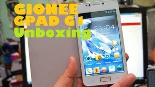 "Gionee GPad G1 Unboxing - 5"" Dual-Core Phone With Free Flip Cover & Battery For PHP 10,799"