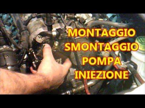 Pompa iniezione 1300 Multijet smontaggio e rimontaggio, Fiat IDEA.