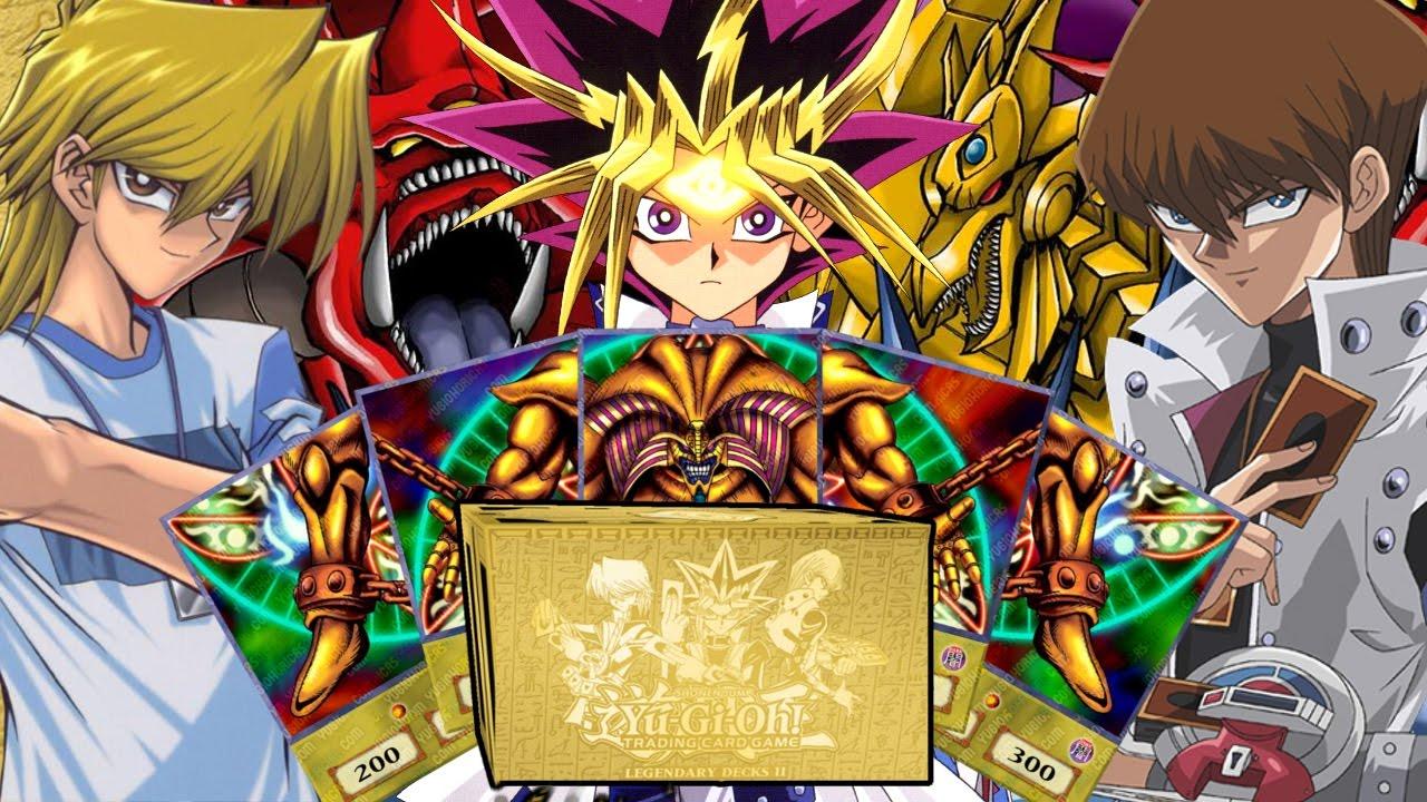 yugioh legendary decks 2 unboxing germandeutsch  alle