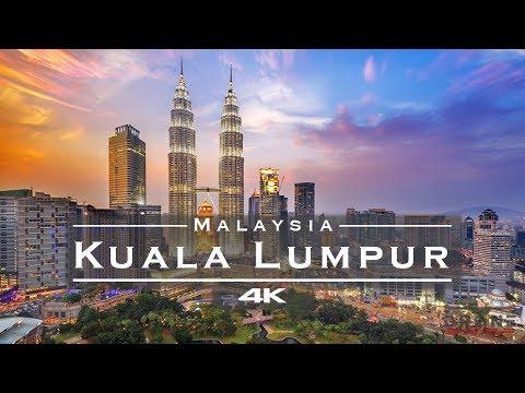 Kuala Lumpur, Malaysia 🇲🇾 - by drone [4K]