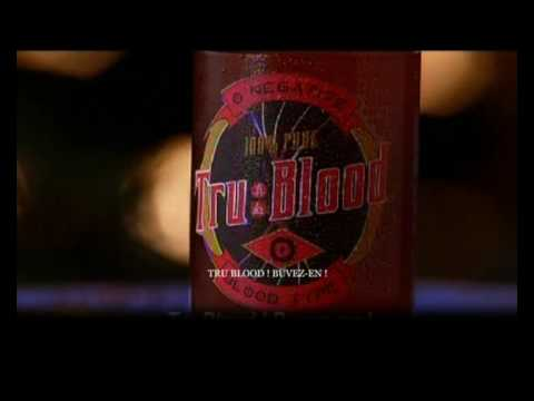 True Blood Drink Adv with French Subtitle