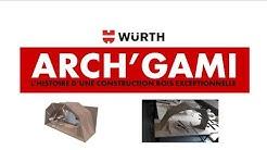 La Projet Arch'Gami - Würth au Forum Bois Construction