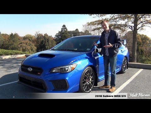 Review: 2018 Subaru WRX STI – As Fun As Ever