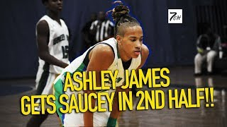 ASHLEY JAMES TAKES OVER GAME IN 2ND HALF!! (Green Run vs Landstown)