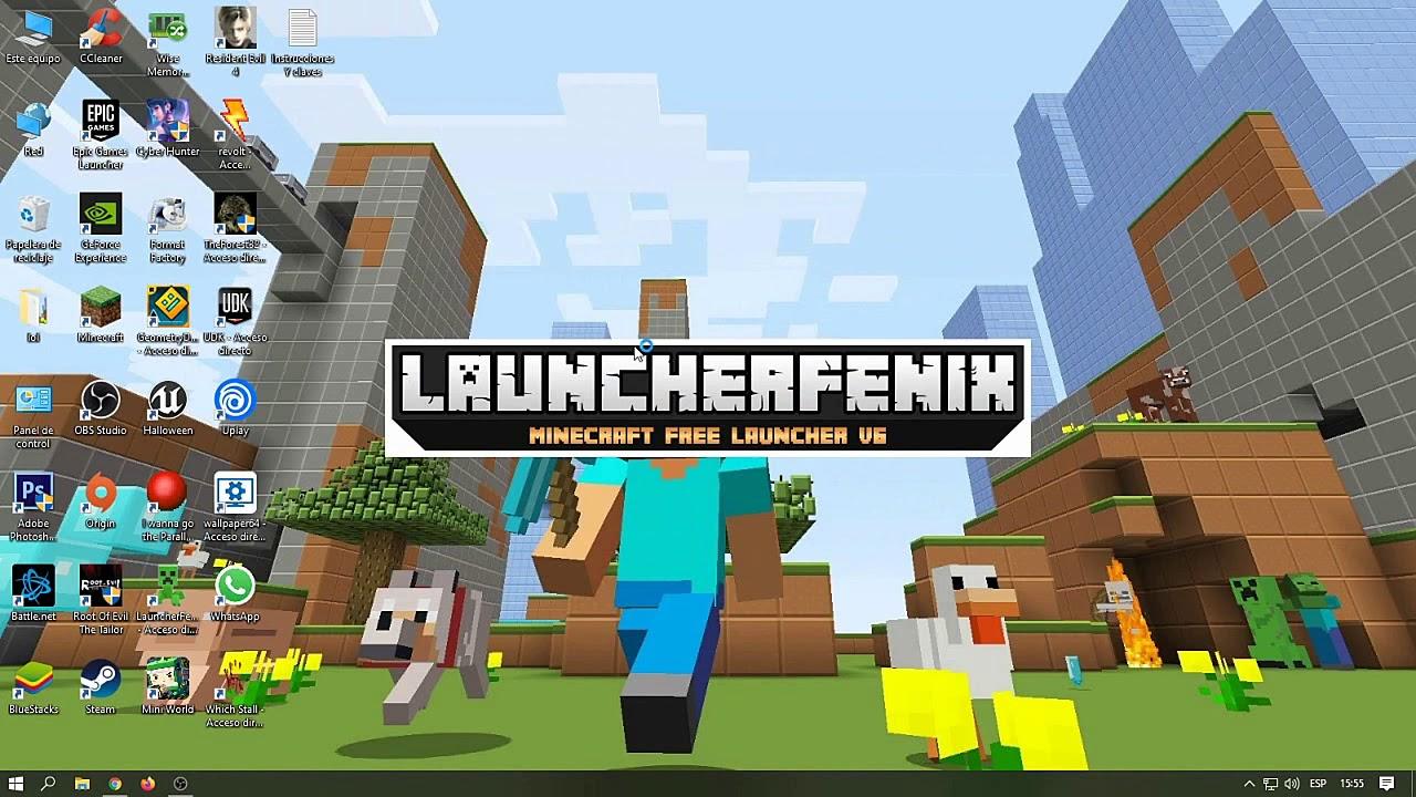 Tutorial Minecraft No Premium LauncherFenix - YouTube