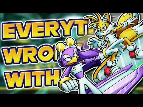 Everything Wrong With Sonic Riders: Zero Gravity in Almost 9 Minutes